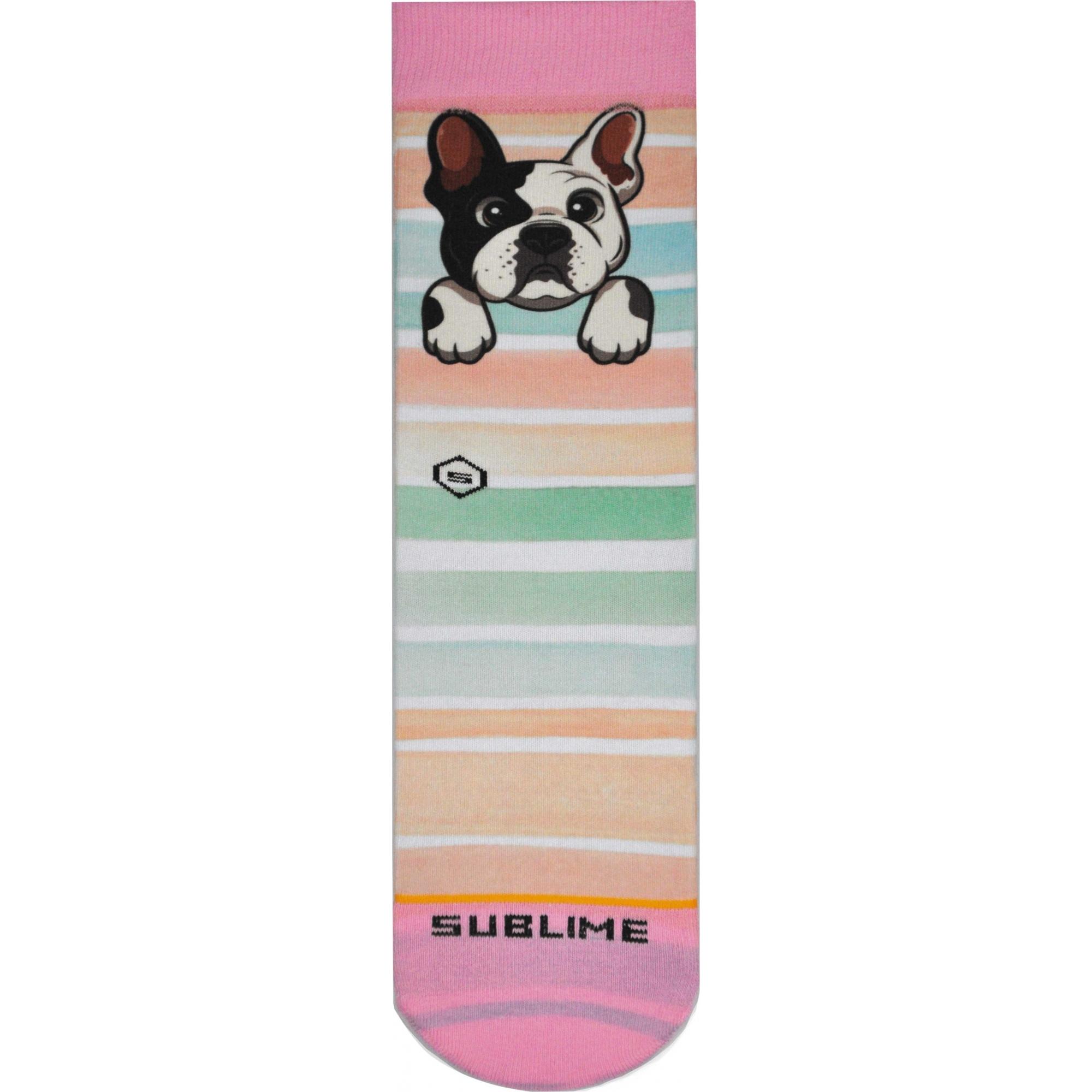 Meia Sublime Bulldog Candy
