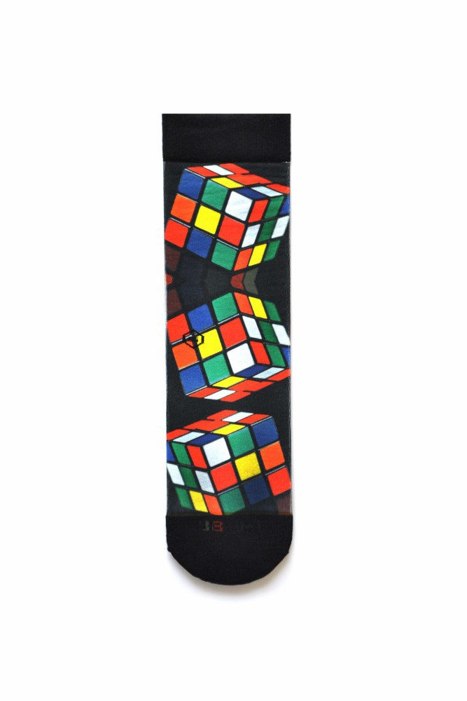 Meia Sublime Cubo Mágico