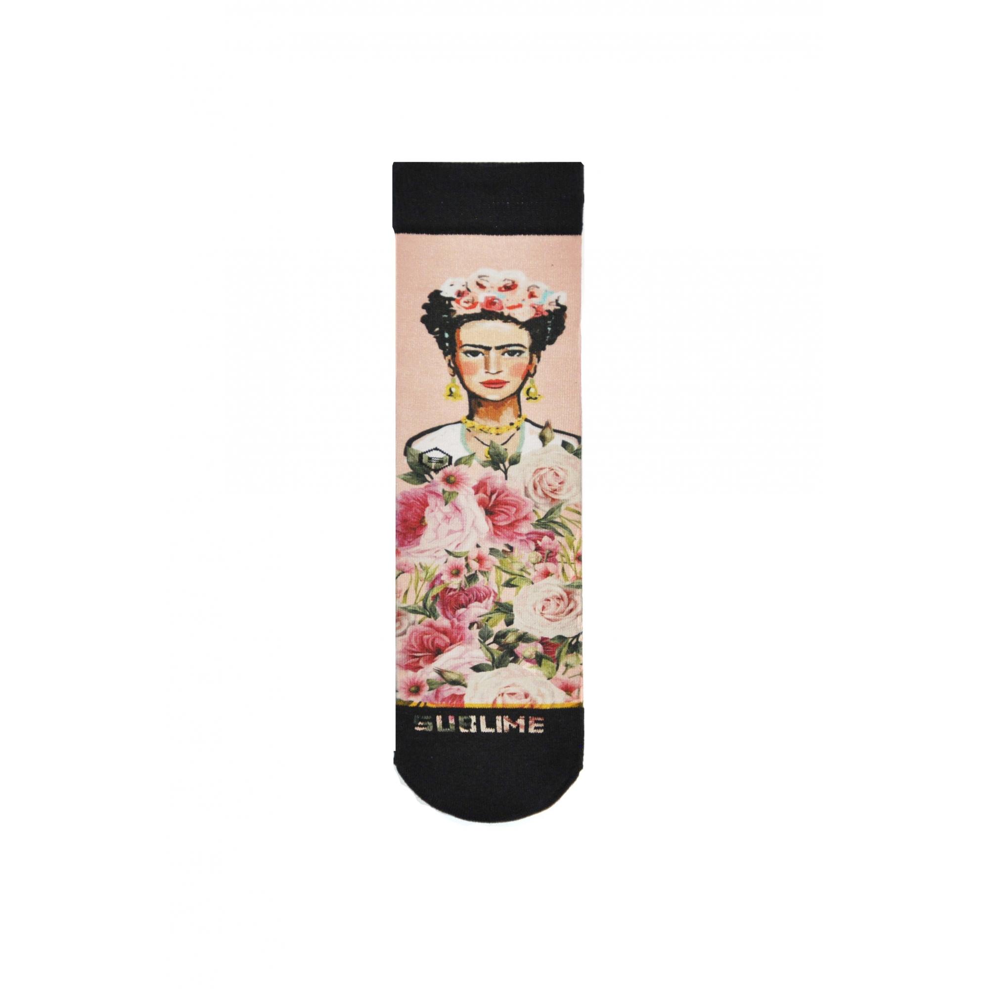 Meia Sublime Frida Roses