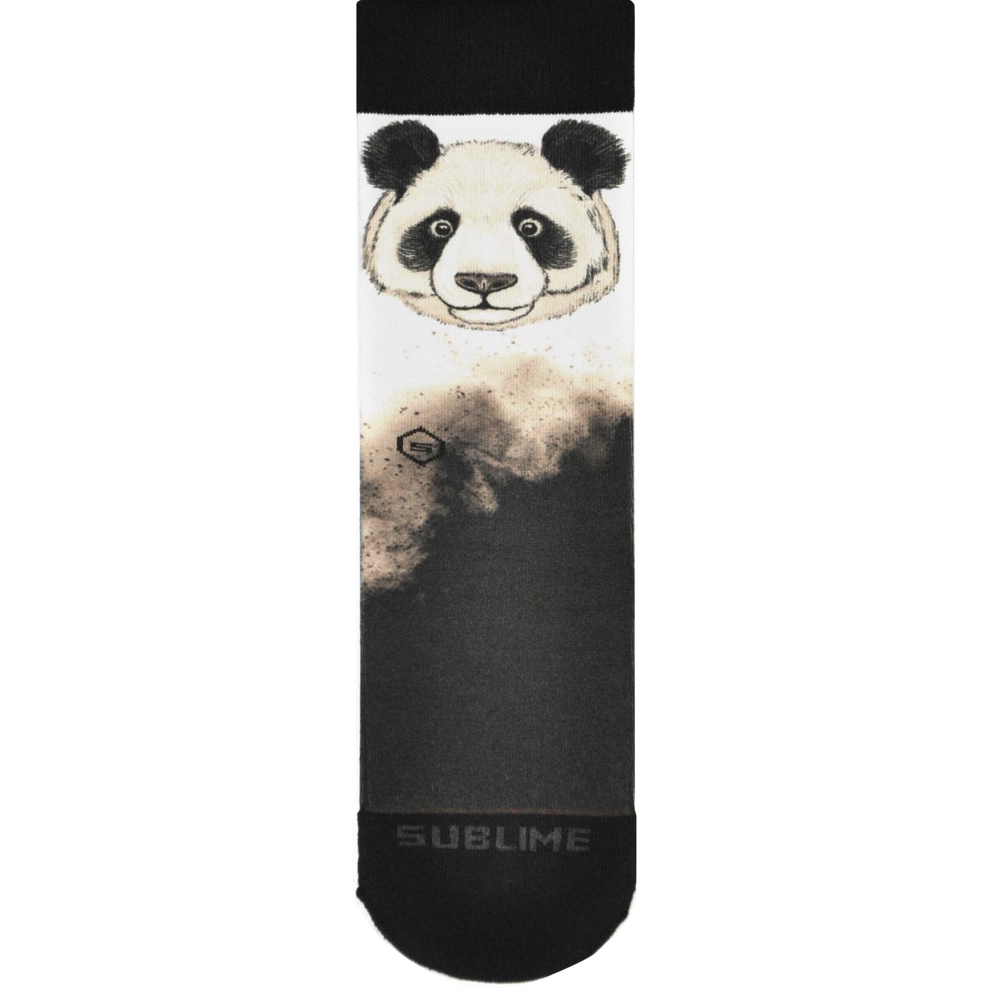 Meia Sublime Panda P&B
