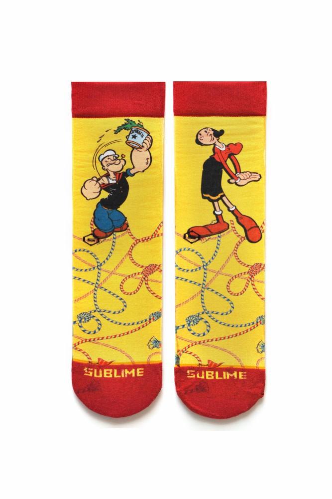 Meia Sublime Popeye & Olívia