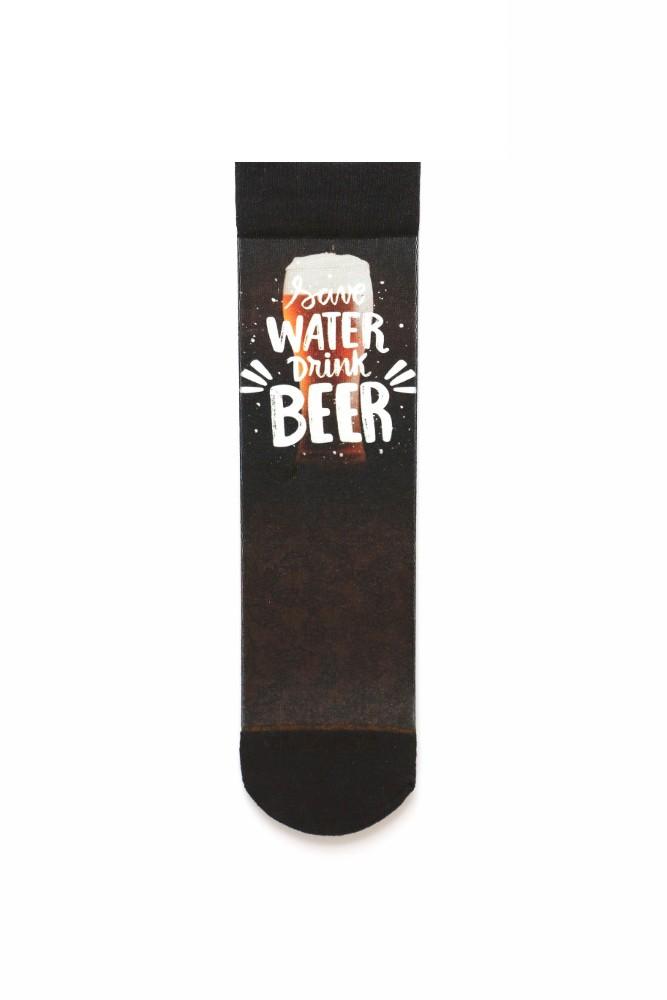 Meia Sublime Save Water, Drink Beer
