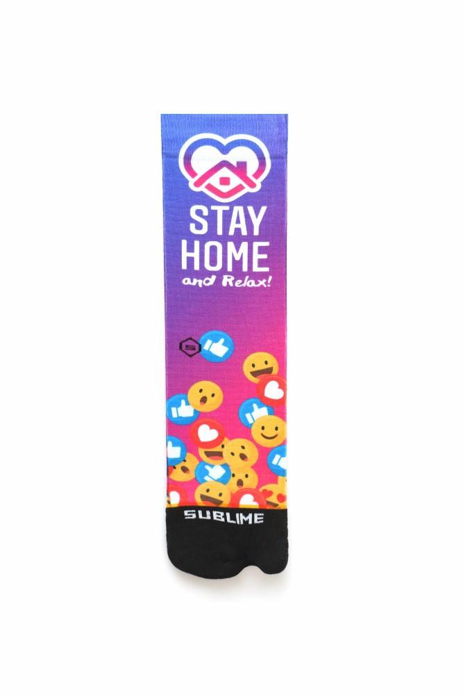 Meia Sublime Stay Home
