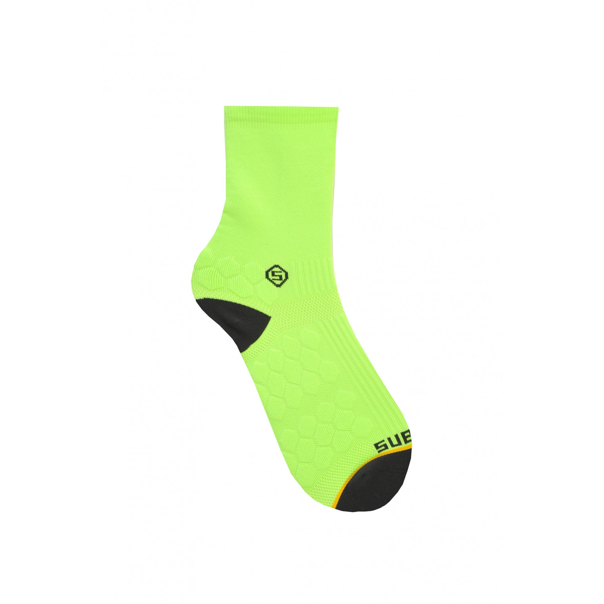 Meia Sublime TechSport 10 Verde Neon