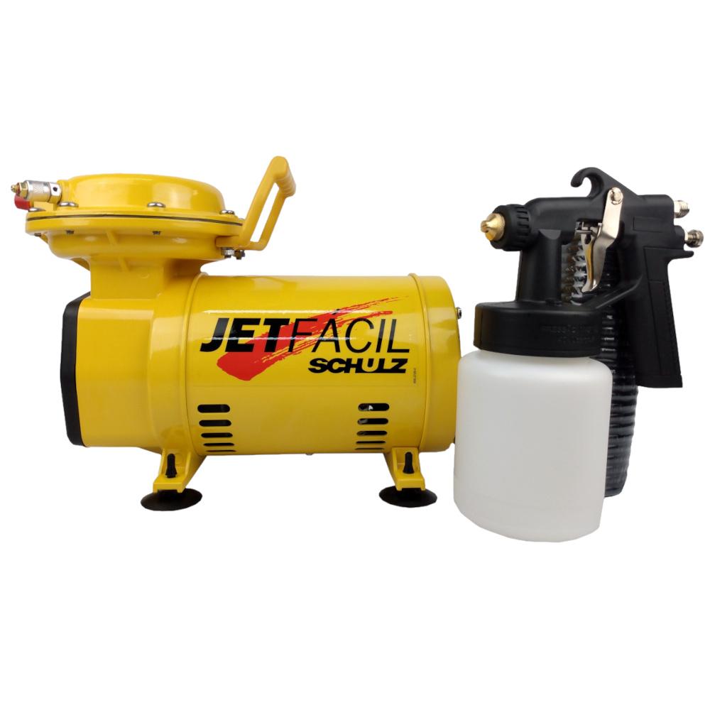 Compressor SCHULZ  Hobby Jet Fácil  1/3HP 40PSI Monofásico 127/220V