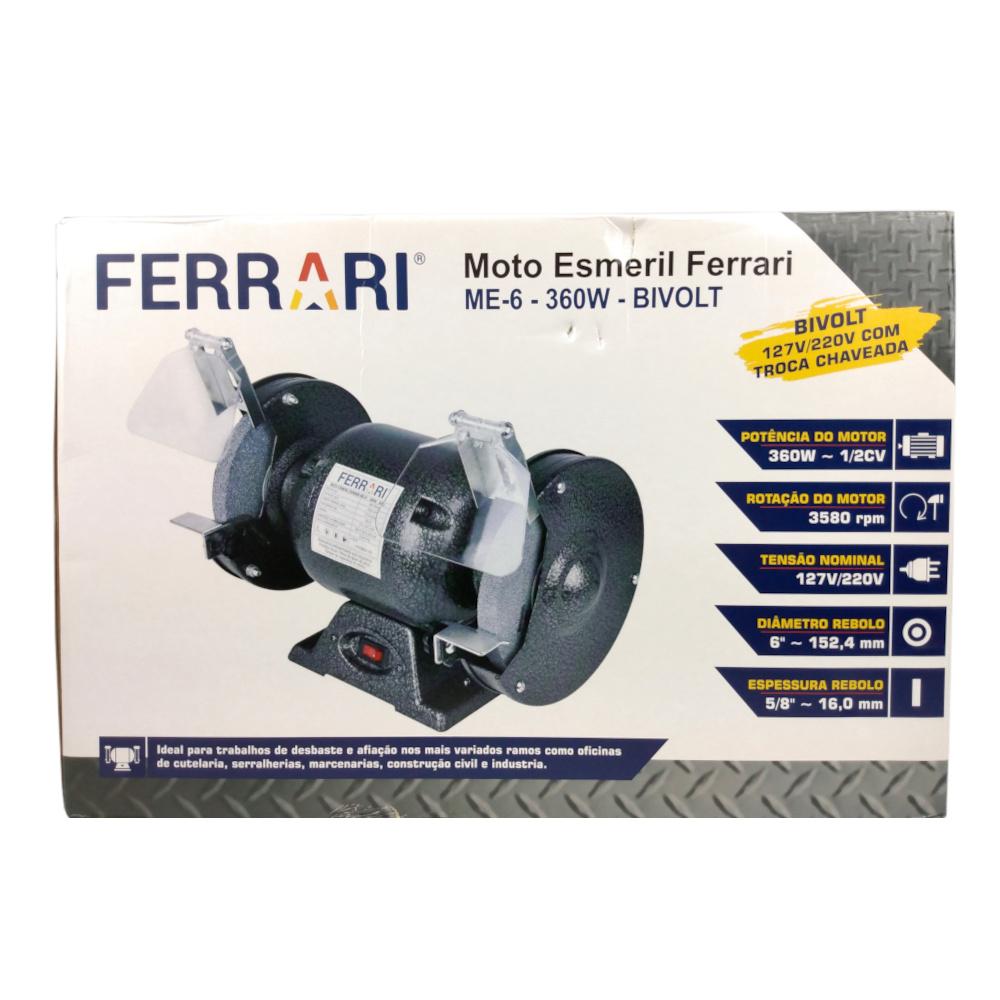 Motoesmeril FERRARI ME-6 357W 127/220V