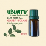 ÓLEO ESSENCIAL GOIABA FOLHAS - 10 ML