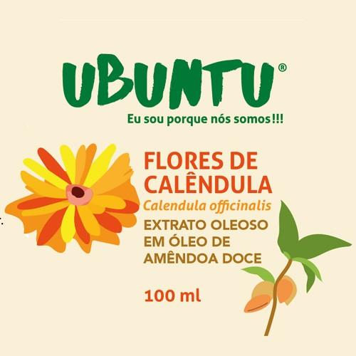 EXTRATO OLEOSO DE FLORES DE CALÊNDULA - AMÊNDOA DOCE - 100 ML