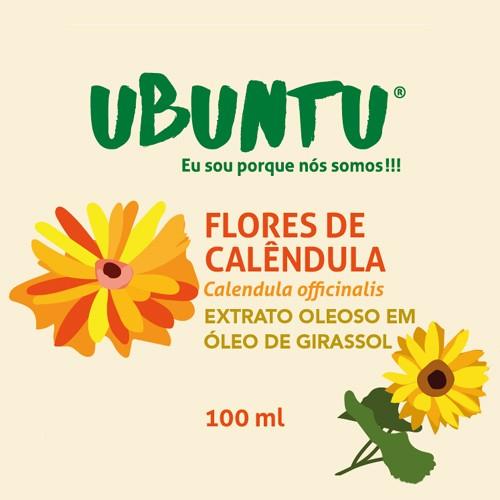 EXTRATO OLEOSO DE FLORES DE CALÊNDULA - GIRASSOL - 100 ML