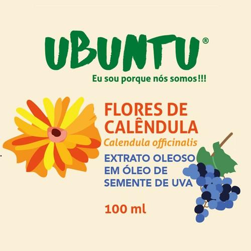 EXTRATO OLEOSO DE FLORES DE CALÊNDULA - UVA - 100 ML