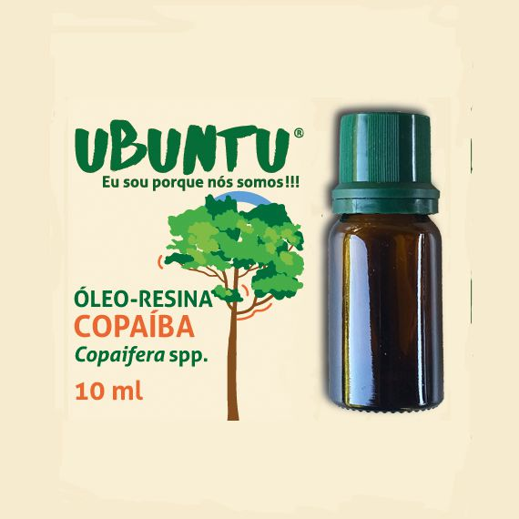 ÓLEO-RESINA COPAÍBA - 10 ML
