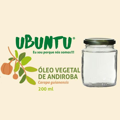 ÓLEO VEGETAL DE ANDIROBA - 200 ML
