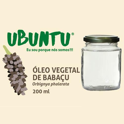 ÓLEO VEGETAL DE BABAÇU - 200 ML