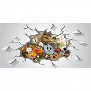 Papel de Parede Autocolante O Incrível Mundo de Gumball