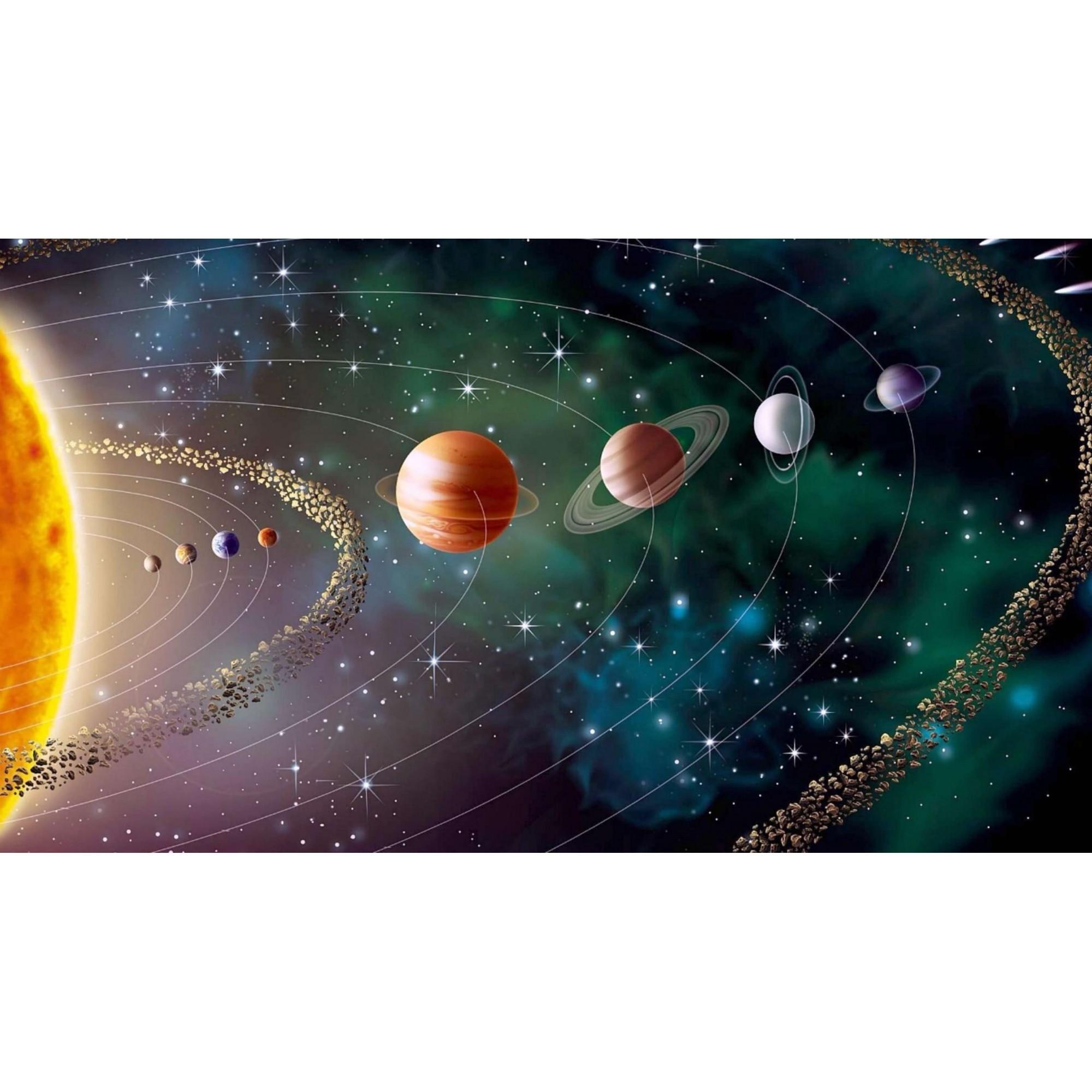 Papel de Parede Autocolante Planetas