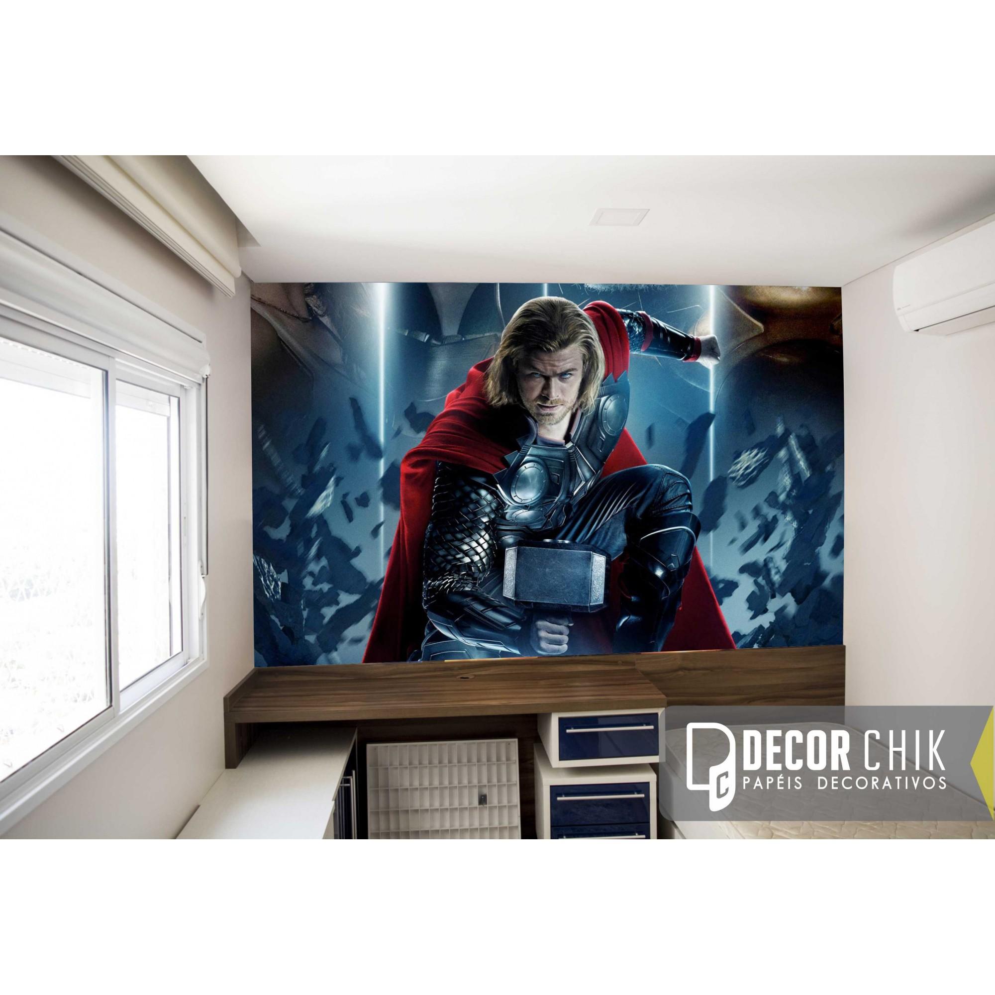 Papel de Parede Autocolante Thor