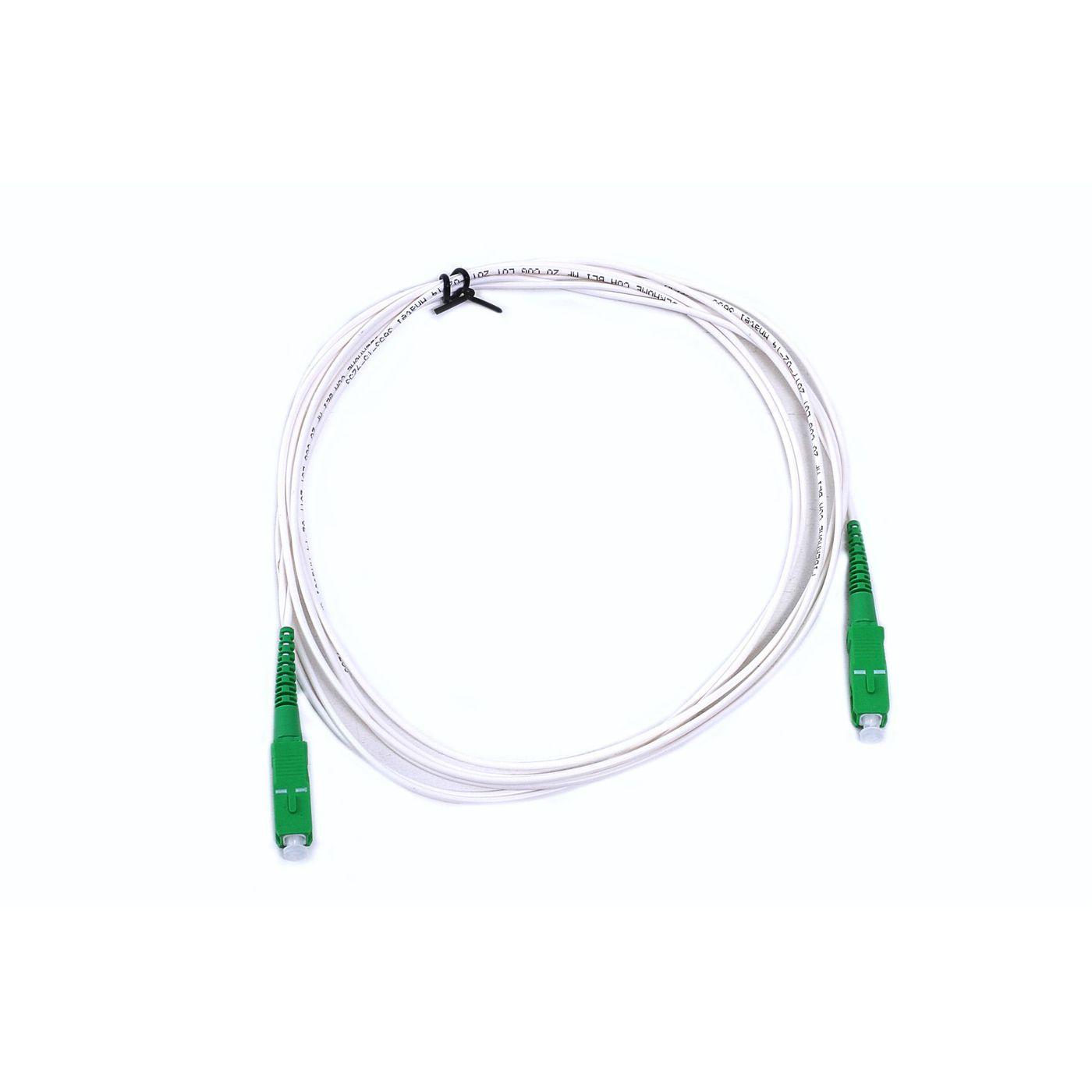 Cordão Óptico - SC/APC-SC/APC - 3 metros