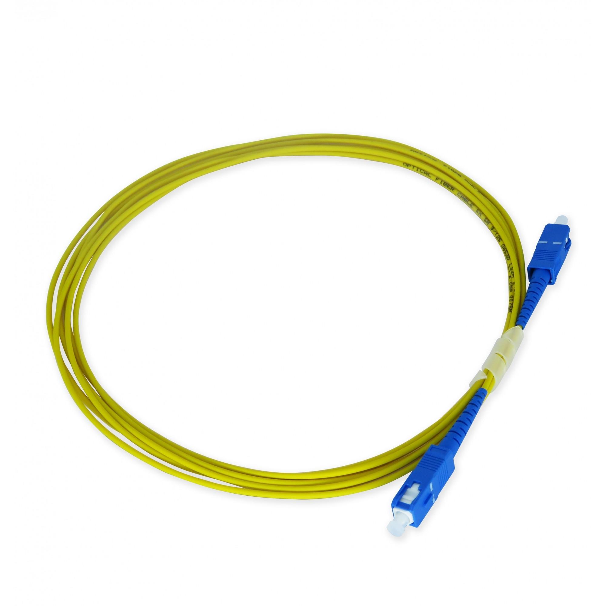 Cordão Óptico - SC/UPC-SC/UPC - 3 metros
