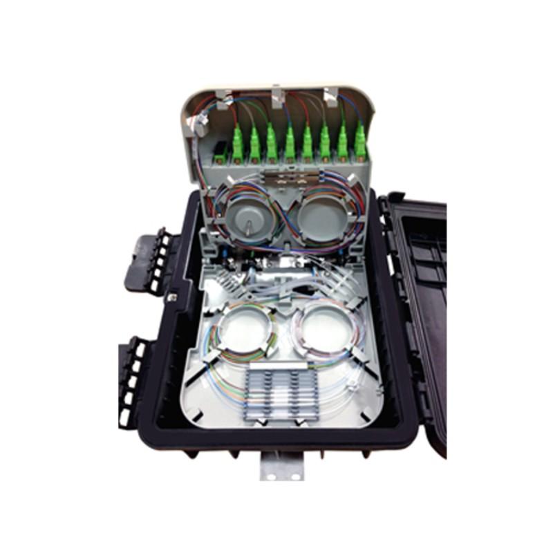 CTO FIBERHOME 1x8 SC/APC - para Poste - modelo FDP-420A-8