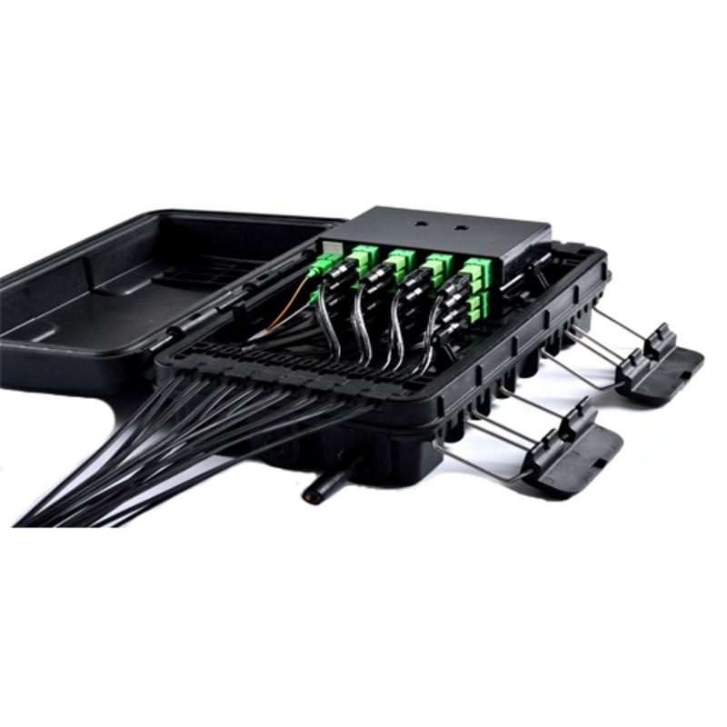 KIT 10 unidades - CTO FIBERHOME 1X16 SC/APC - PARA CORDOALHA - MODELO FDP-420E