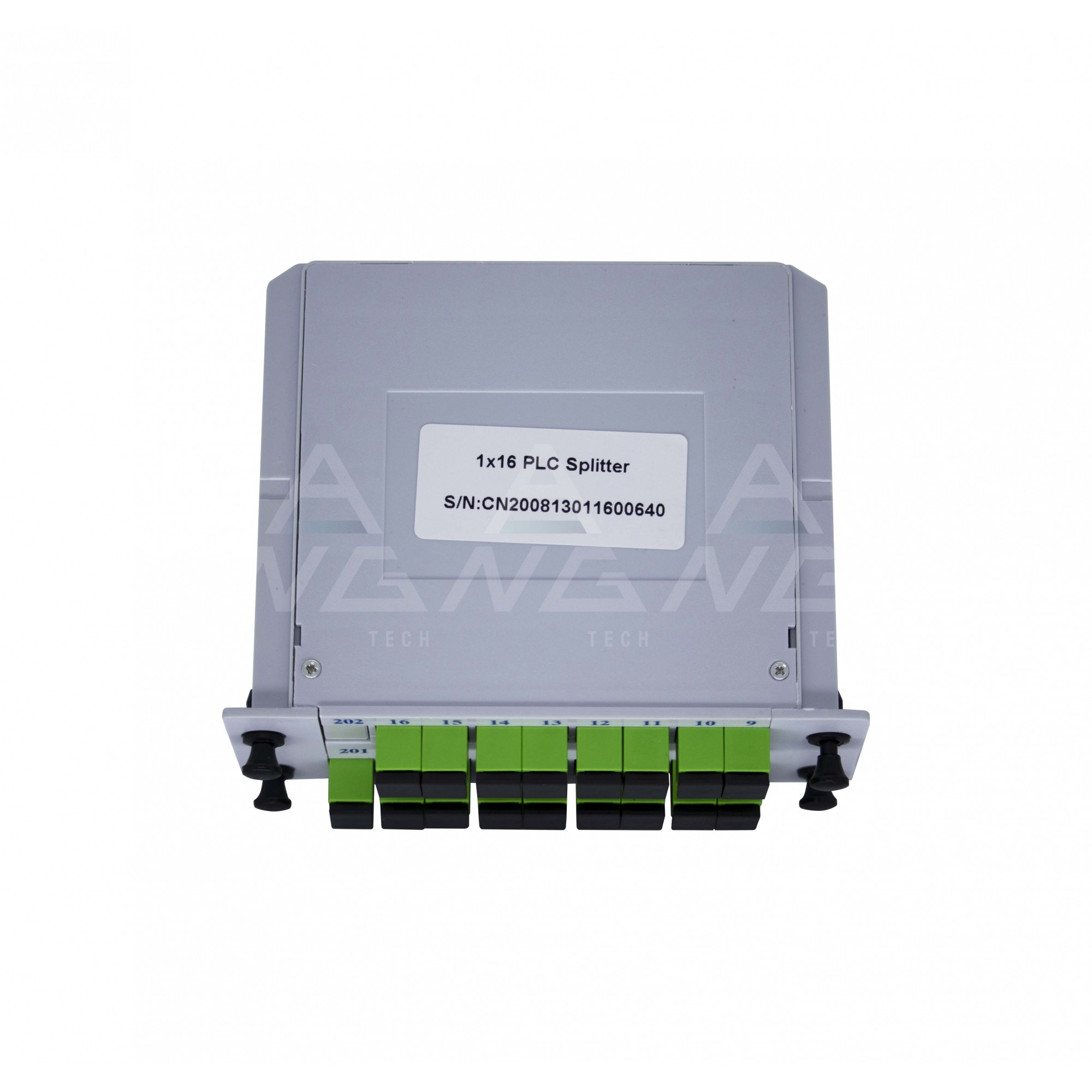 Splitter Cassete 1.16 com conector SC/APC - Modular