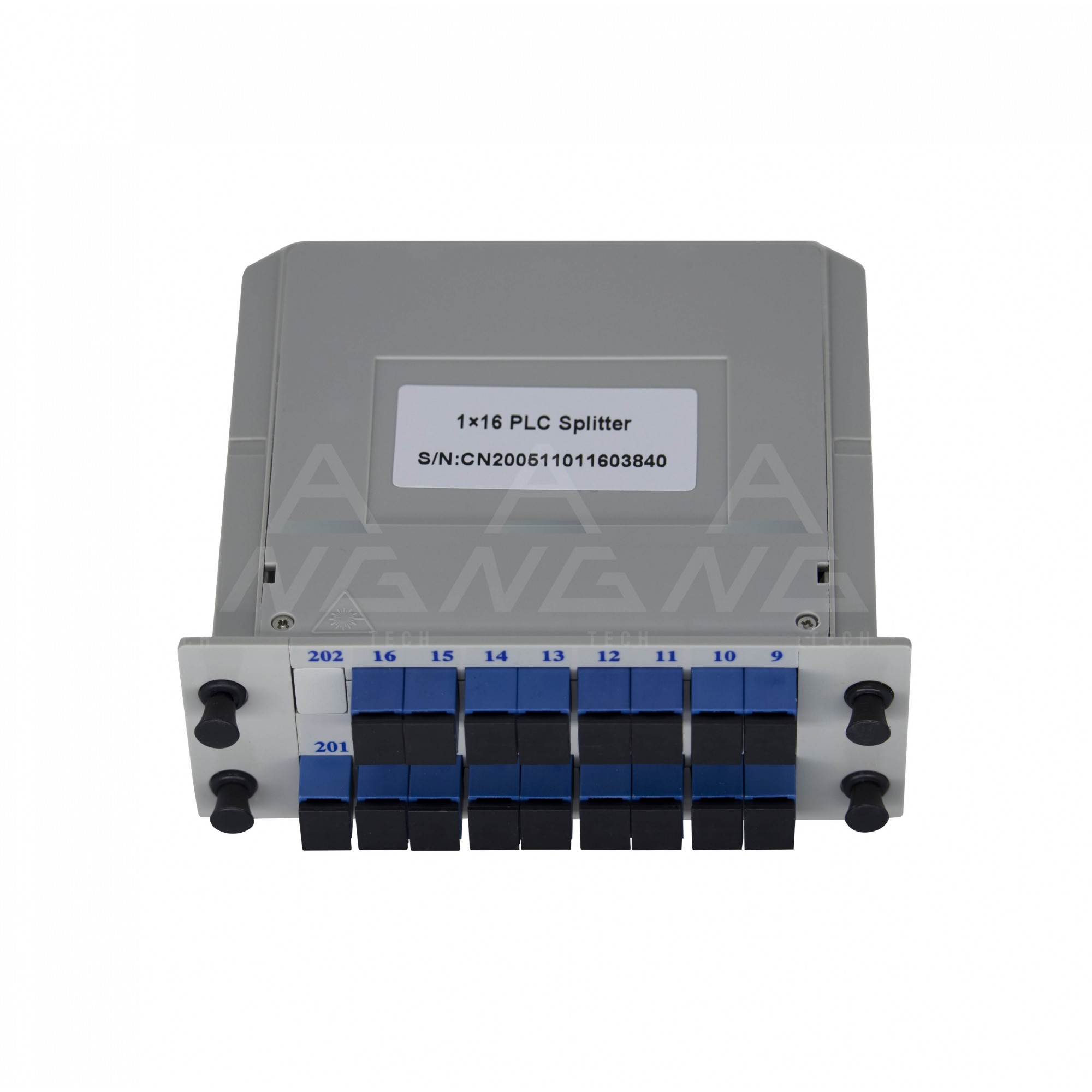 Splitter Cassete 1.16 com conector SC/UPC - Modular