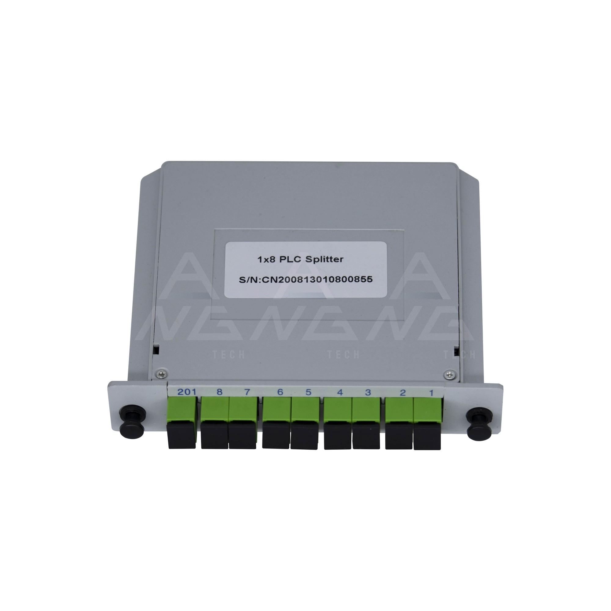 Splitter Cassete 1.8 com conector SC/APC - Modular