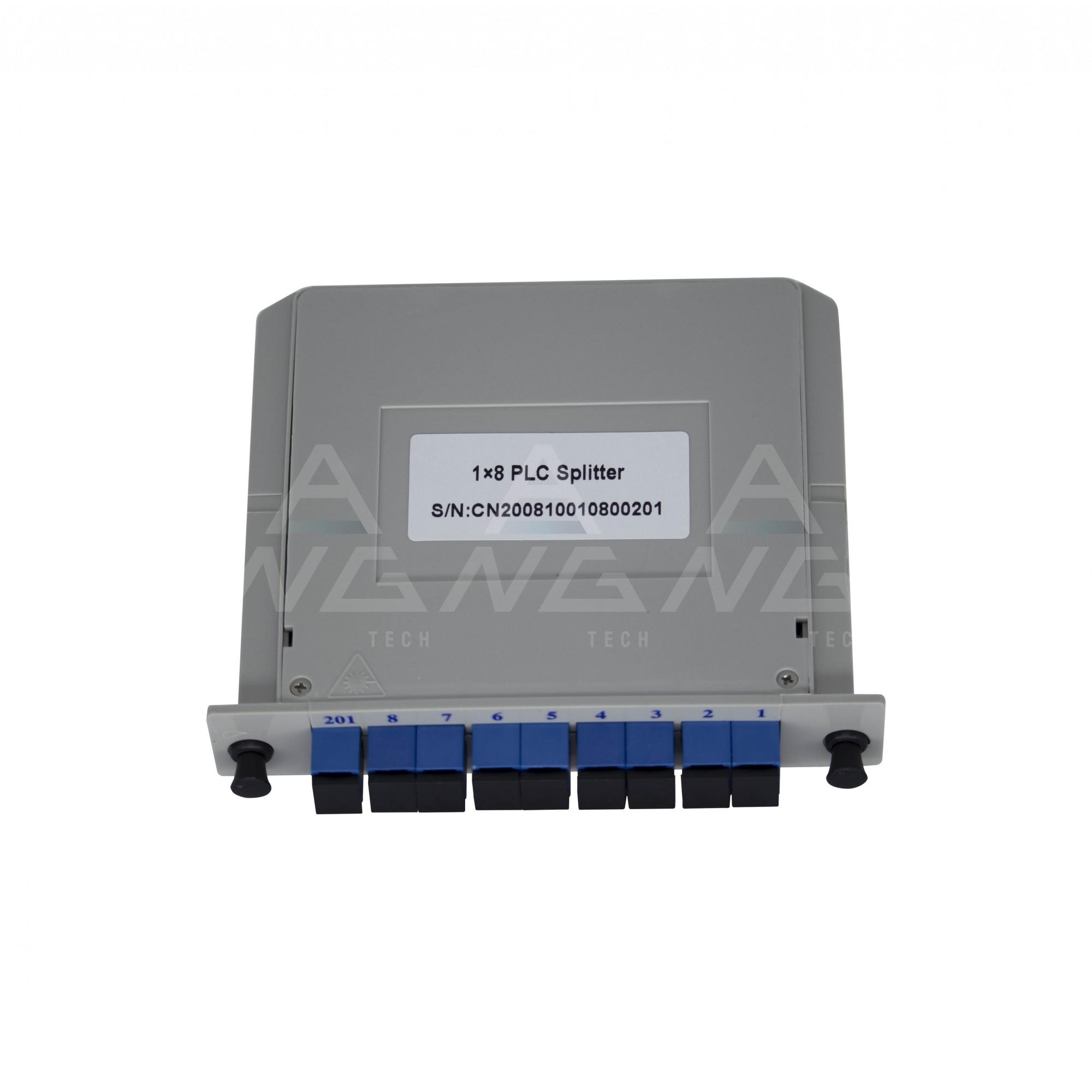 Splitter Cassete 1.8 com conector SC/UPC - Modular