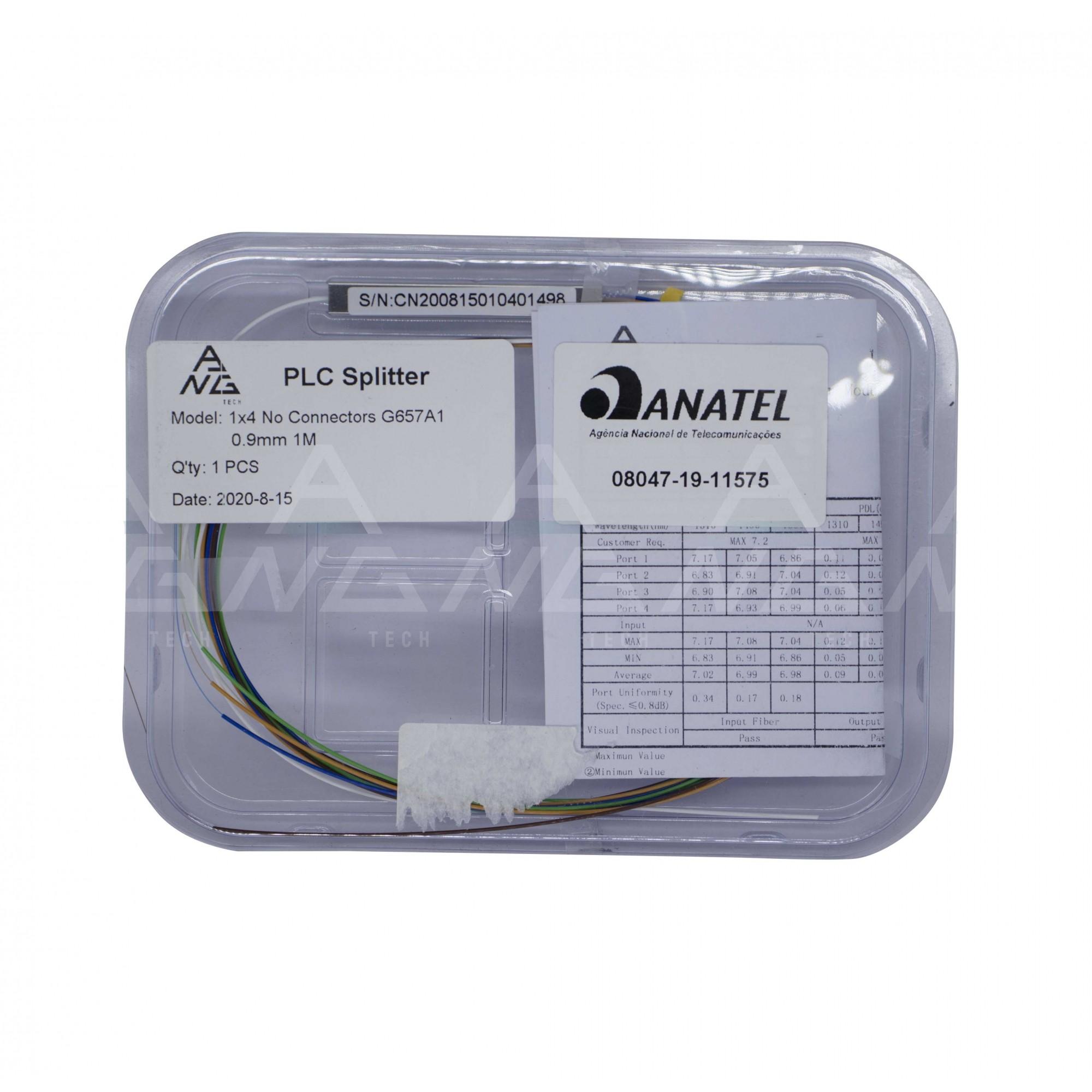 Splitter Óptico 1.16 - Sem Conector PLC