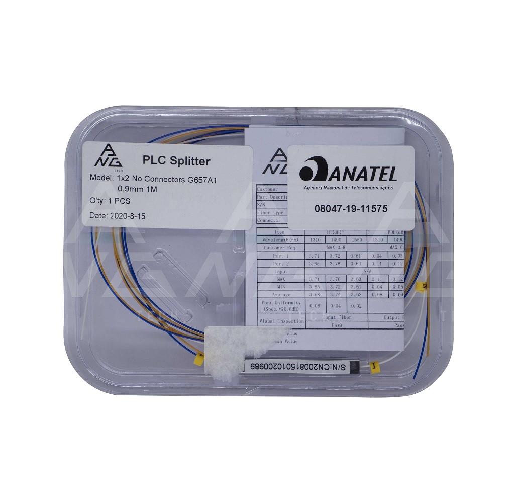 Splitter Óptico 1.2 - Sem conector PLC
