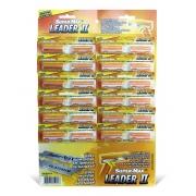 Barbeador Leader Linha Super-Max cartela com 12 pares