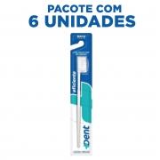 Escova Eficiente Linha +Dent Macia Caixa com 6 Unidades