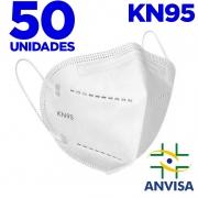 Máscara kn95 - E-VIPO - caixa com 50 unidades