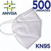 Máscara KN95/N95 sem válvula (com ANVISA) - 500 unidades