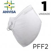 Máscara Respirador PFF2/N95 - 1 unidade  - ANVISA 82167630001