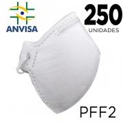 Máscara Respirador PFF2 caixa com 250 unidades - ANVISA 82167630001