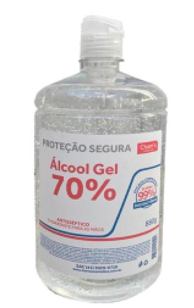 Álcool Gel 70% Antisséptico (PUMP) frascos de 880g