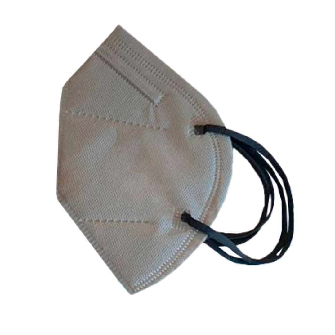 Máscara PFF2 / N95 / KN95 adulto coloridas - pacote 80 unidades 5 duplo camadas meltblow BFE 98% + feltro de coton + tnt spunbond hospitalar hipoalergenico