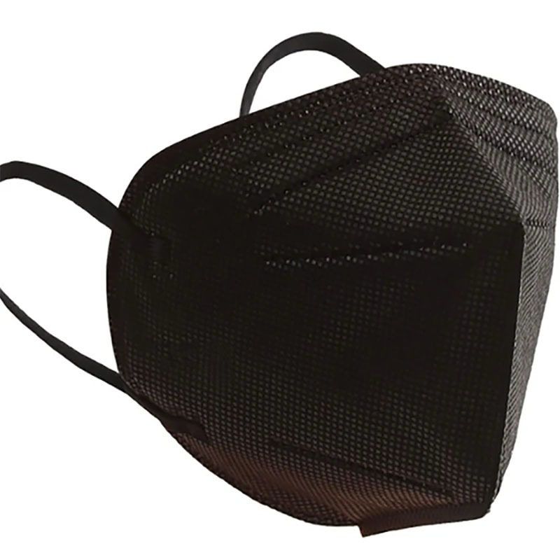 Máscara pff2/n95 preta adulto pacote 30 unidades