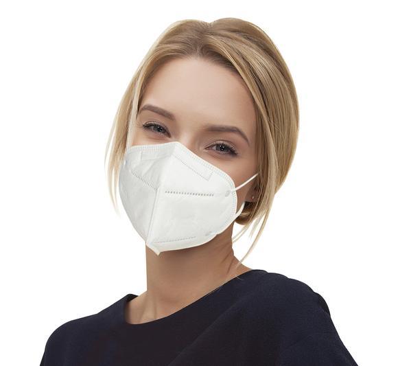 Máscara respirador N95 - pacote 100 unidades