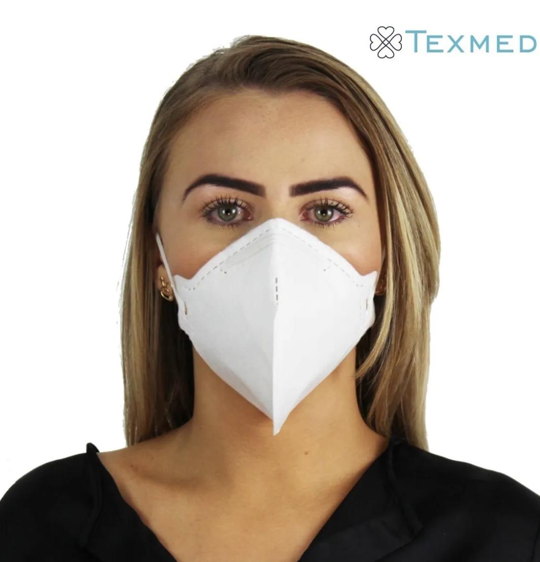 Máscara Respirador PFF2/N95 30 unidades - ANVISA 82167630001
