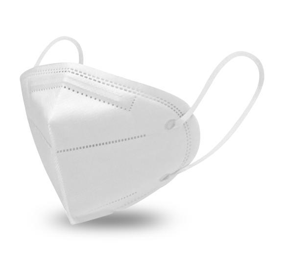 Máscara respirador PFF2 - pacote 100 unidades