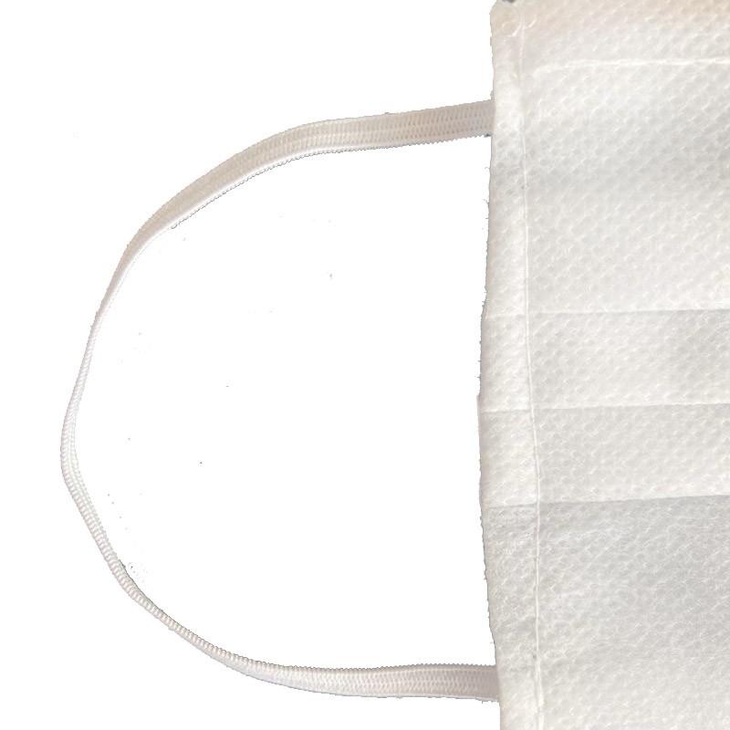 Máscara tripla com filtro bacteriológico BFE PACOTE 100 unidades