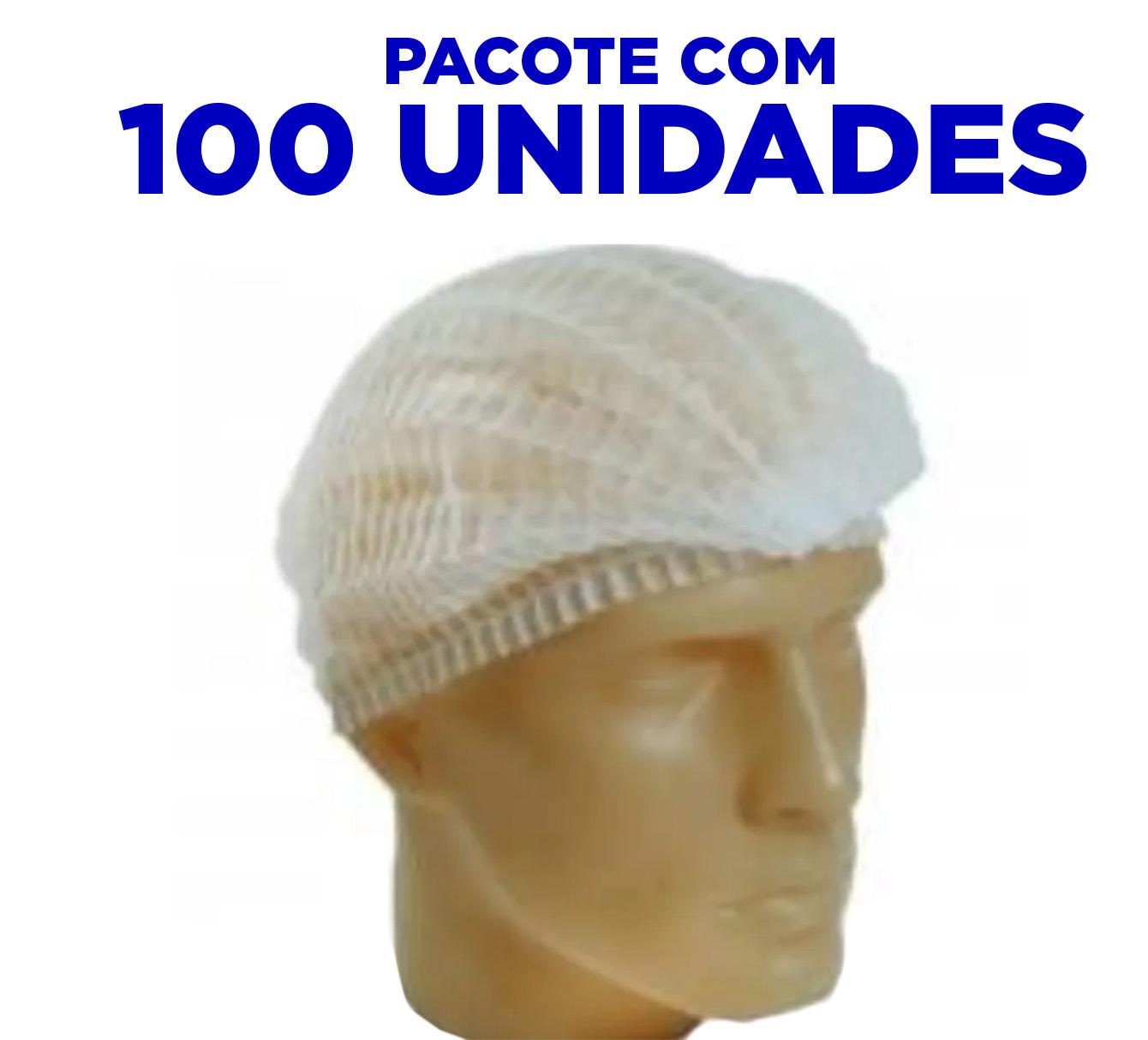 Touca Descartável Sanfonada  - 100 UNIDADES - ANVISA