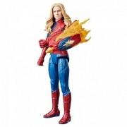 Boneco Capitã Marvel Titan Hero Power Fx - Hasbro