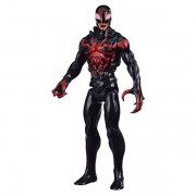 Boneco Titan Hero Marvel Maximum Venom Miles Morales - Hasbro