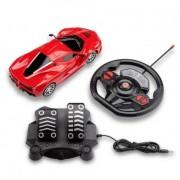 Carrinho de Controle Remoto Racing Control Speed X - Vermelho - Multikids