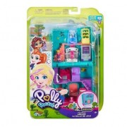 Playset e Mini Boneca Polly Pocket Fliperama - Mattel