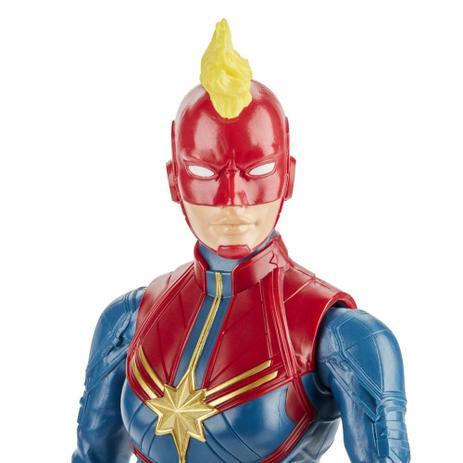 Boneco Capitã Marvel Titan Hero Series - Hasbro