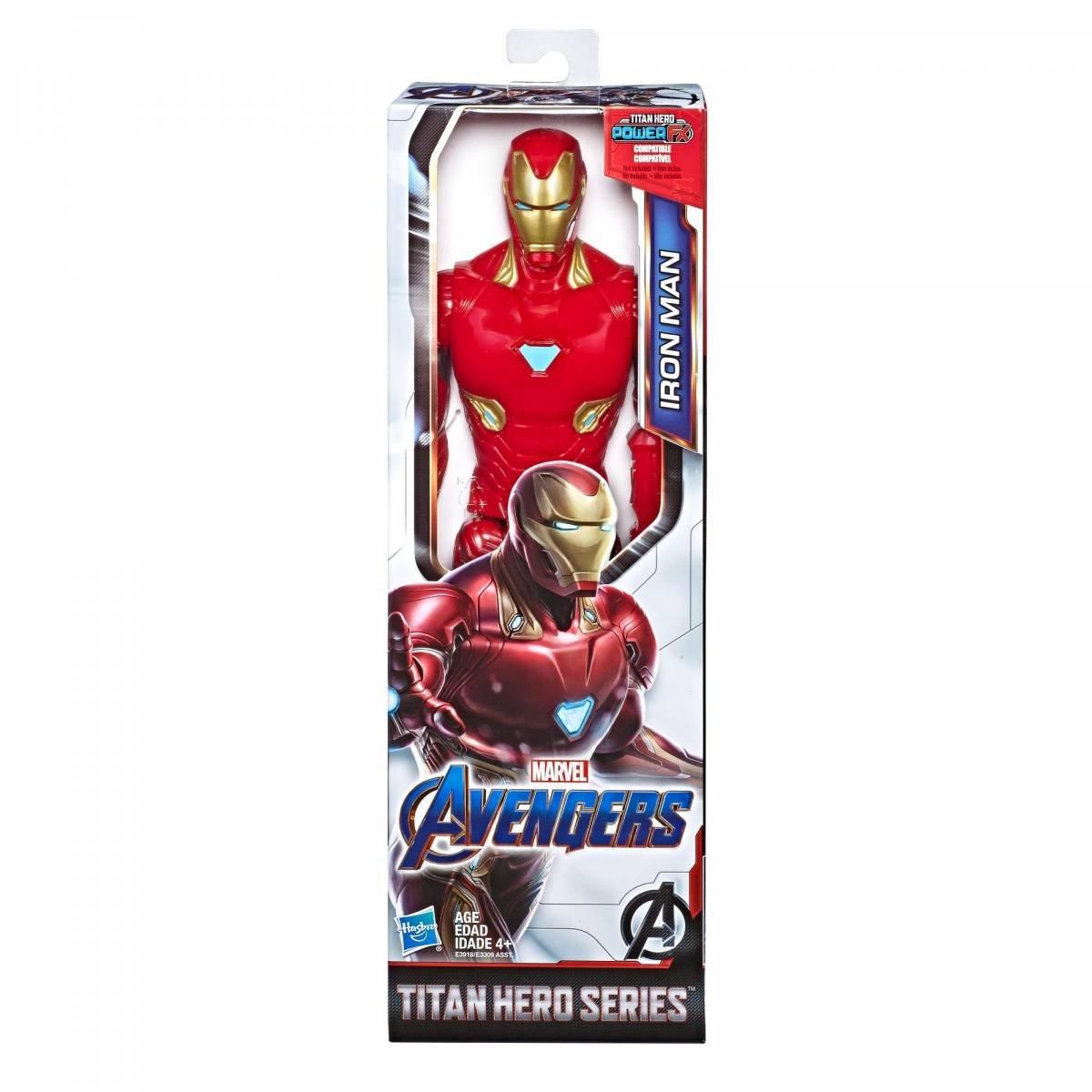 Boneco Homem de Ferro 30cm Marvel Titan Hero - Hasbro
